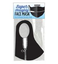 Super Naughty Zipper Face Mask