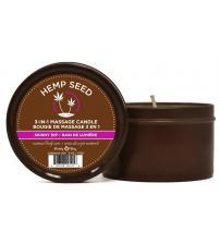 Hemp Seed 3-in-1 Massage Candle - Skinny Dip - 6 Oz.