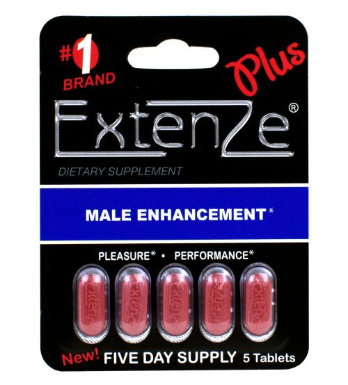 Extenze Plus 5 Day Supply - Each