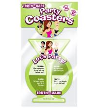 Truth or Dare Party Coasters - 8 Count