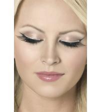 Glitter Eyelashes - Black