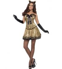 Fever Boutique Kitty Costume - Large
