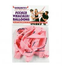 Bachelorette's Last Night Out! Pecker Whacker Balloons - 5 Pack