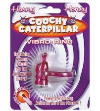 Horny Honey Vibro Ring Coochy Caterpillar - Magenta