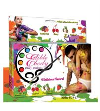 Edible Body Play Paints Kit