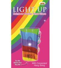 Light Up Rainbow Pecker Shot Glass