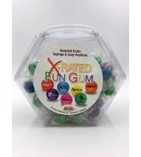 X-Rated Fun Gum - 90 Piece Bowl - Assorted