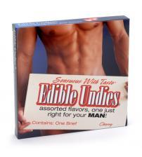 Male Edible Brief - Cherry