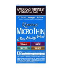 Kimono Microthin Sheer Variety Pack - 12 Count