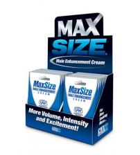Max Size Cream - 24 Packets Display