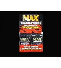 Max Testosterone - 24 Count Display - 2 Count Packets