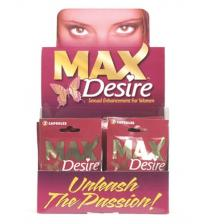Max Desire - 24 Count Display - 2 Count Packets