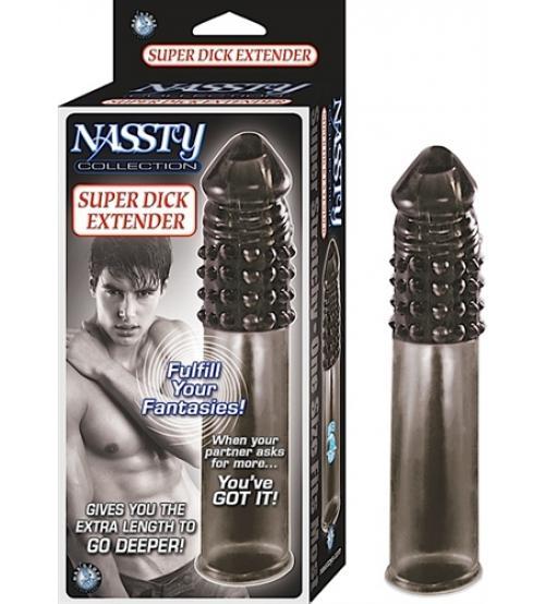 Nassty Collection Super Dick Extender - Black